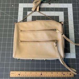 Beige mini purse